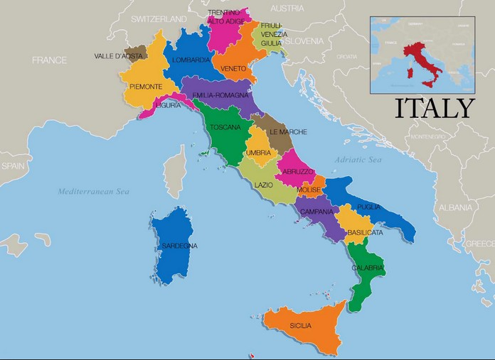 Map Of Italy With Major Cities Places Explore To World - Austria major cities map