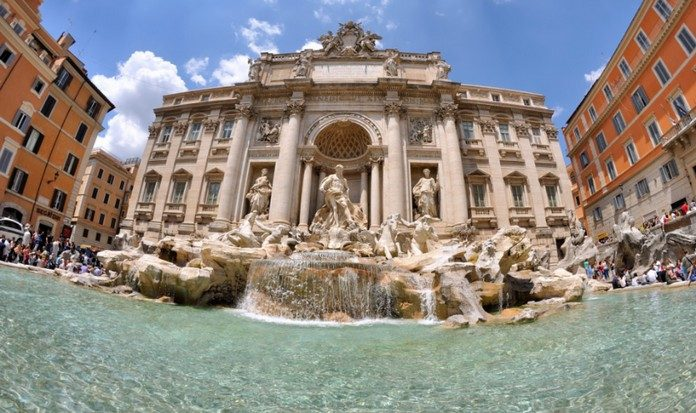 Italy fountains