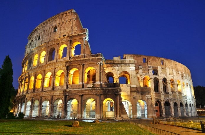 the most famous landmark of italy and one of the most famous in the whole world the colosseum attracts million of tourists every year
