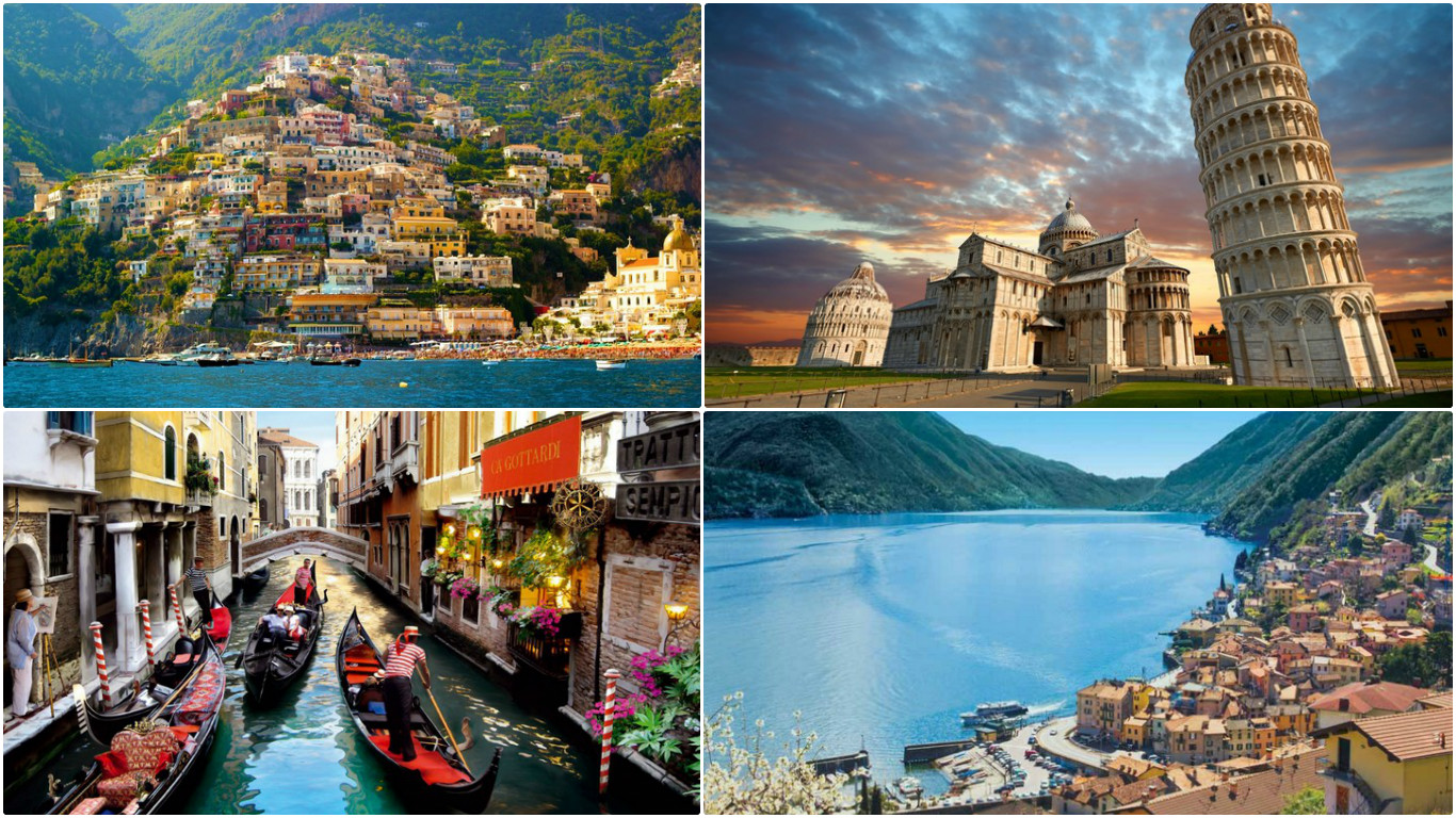 Top 10 Most Loved Places In Italy