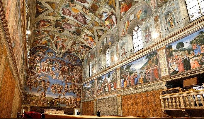 an essay on the sistine chapel ceiling