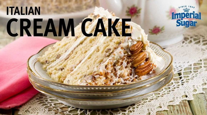 Italian Cream Cake recipe Explore to World