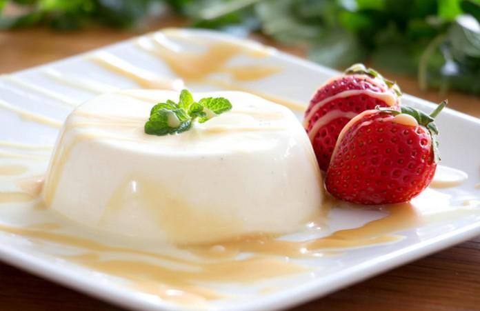 how to serve panna cotta