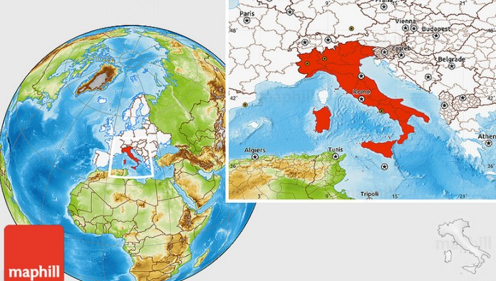 Where Is Italy Located On The Map Explore To World - Italy world map