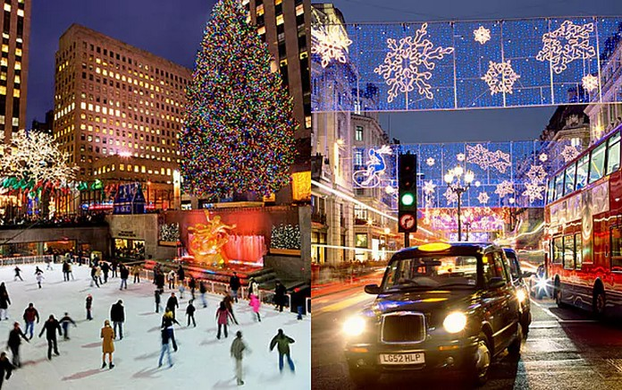 Best Places To Visit For Christmas In Usa Of Top 6 Usa Places To Visit For Christmas