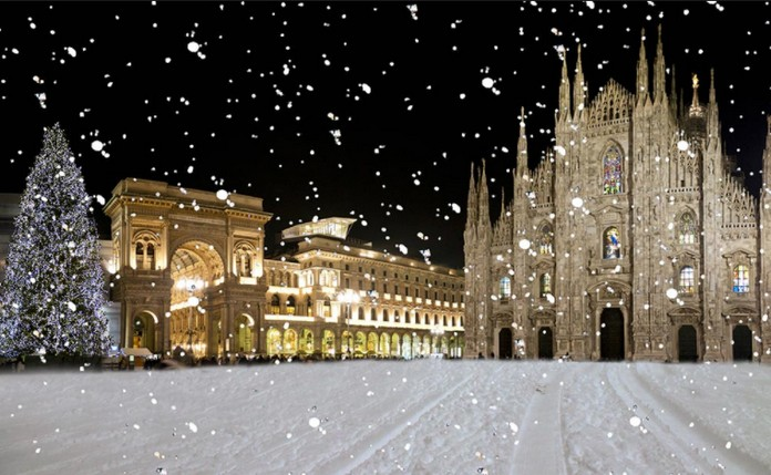 Winter In MILAN Italy Photos - Italy in the winter