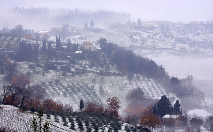 Where Can I Rent A Car >> Winter in TUSCANY, Italy (10 photos)
