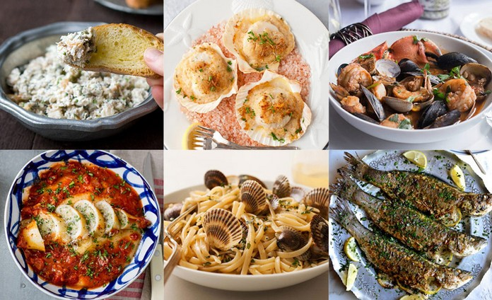 The italian christmas feast of the 7 fishes for Italian seven fishes