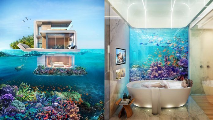Forget Living In Hotels You Could Soon Own Your Underwater Villa For 27 Million
